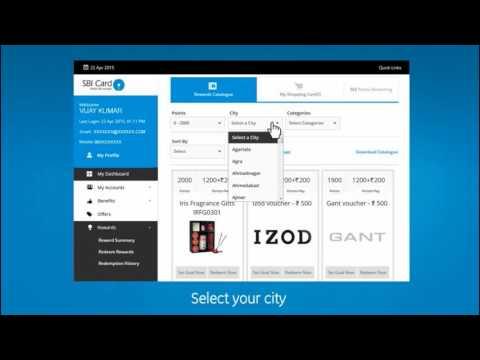 How to Redeem SBI Credit Card Reward Points Online