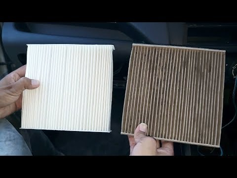 How To Change The Cabin Air Filter In A Maruti Suzuki Swift | AutoSeven