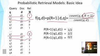 Lecture 19  —  Probabilistic Retrieval Model  Basic Idea | UIUC