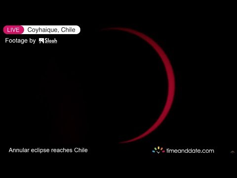 Annular Solar Eclipse Live, February 26, 2017