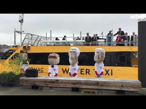 Celebrating two new boats in the Potomac River Water Taxi fleet