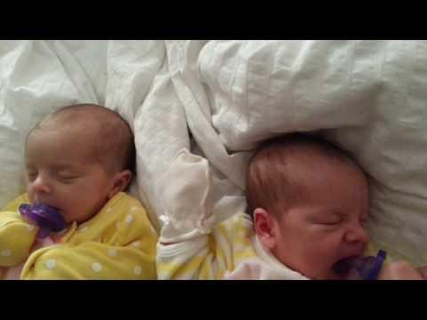 Twins sleeping !