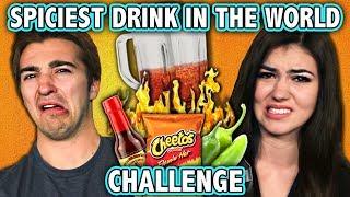 SPICIEST DRINK IN THE WORLD CHALLENGE! (ft. React Cast) | Challenge Chalice