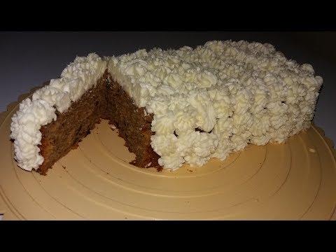Decorating A rectangular Pumpkin Cake A.K.A[ mamas cake ]