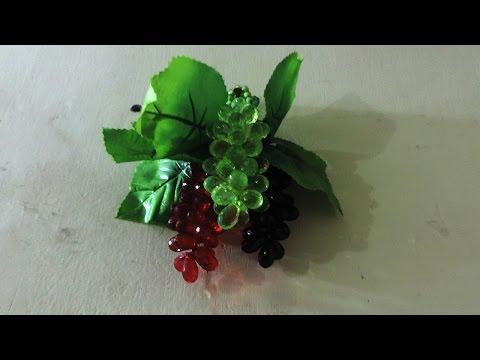 Decor Inspiration Ideas  How To Make Beaded Grapes By Decoration Idea 673