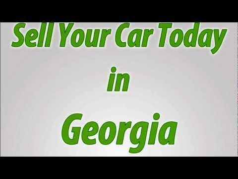 Sell A Car in Georgia