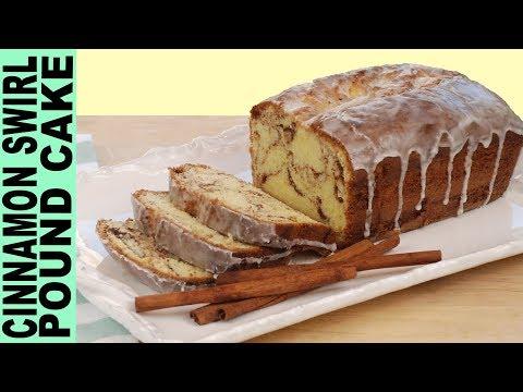 GLUTEN FREE POUND CAKE RECIPE How to Make Cinnamon Swirl Pound Cake Moist and Yummy !