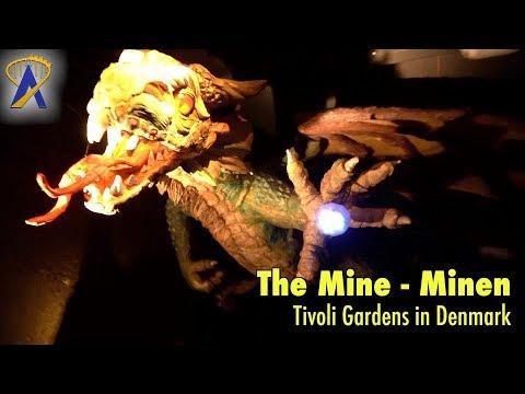 The Mine - Minen low-light POV at Tivoli Gardens in Copenhagen, Denmark