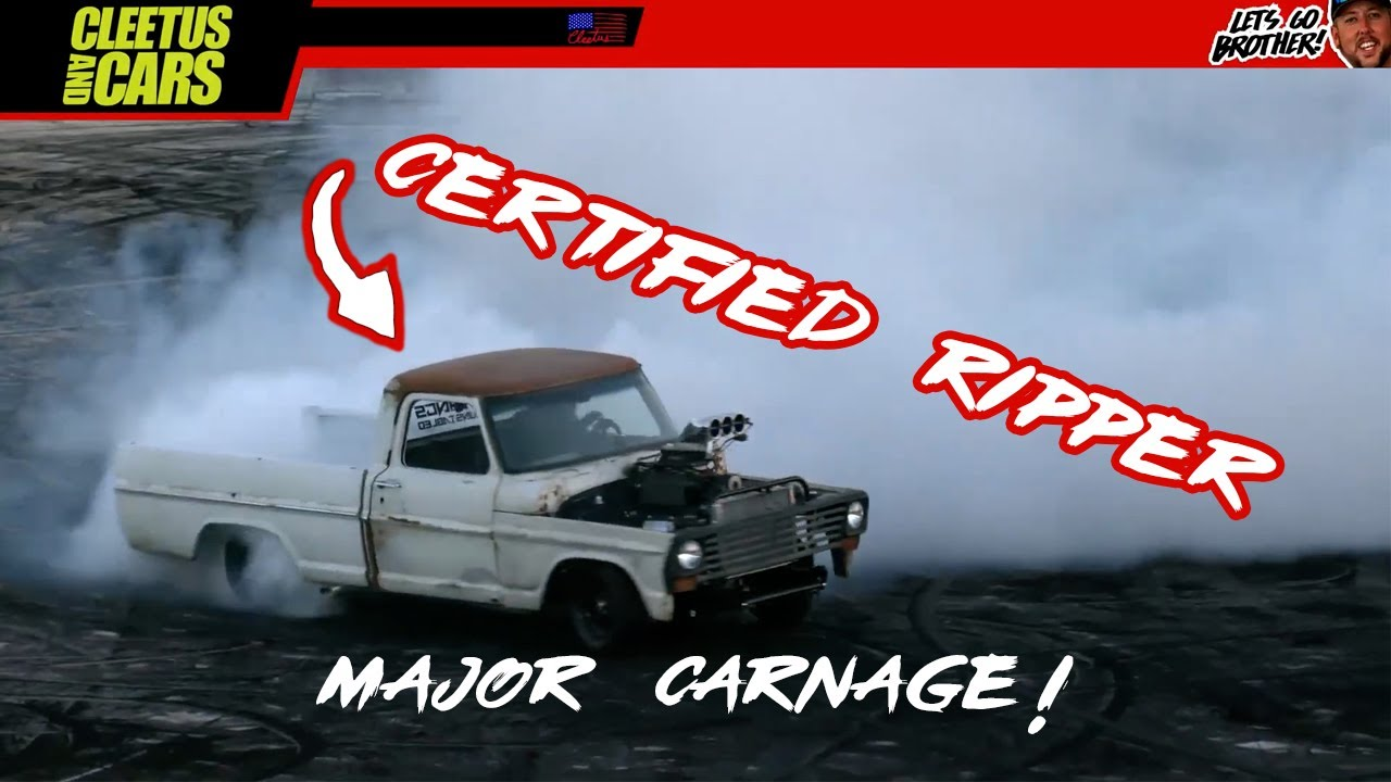 Deathtrap sending it Aussie style Cleetus and Cars 2021 FREEDOM FACTORY (Major Carnage)