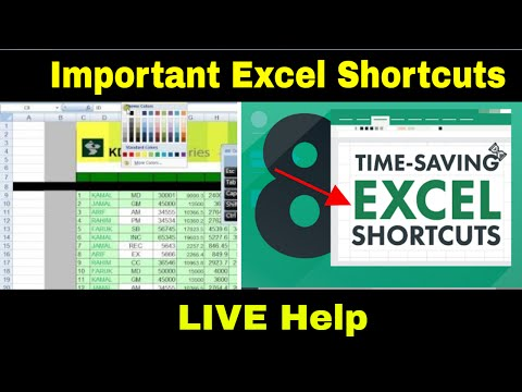 Excel Shortcuts Tutorial | Keyboard tricks for easy accounting Life