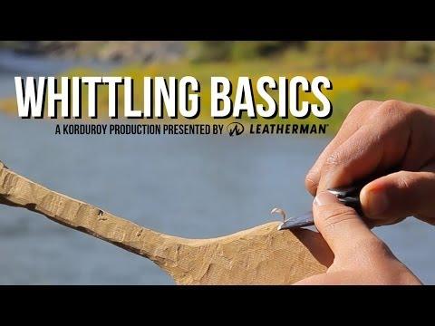 Whittling Basics - D-I-Why Not?