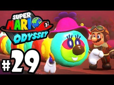 Super Mario Odyssey - Switch Gameplay Walkthrough PART 29: Lost Kingdom Moons - Forgotten Isle