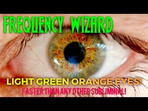 GET LIGHT GREEN EYES WITH ORANGE FLARE POWERFUL BIOKINESIS CHANGE YOUR EYE COLOR TO GREEN ORANGE