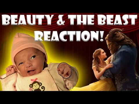Baby Reaction to Beauty and the Beast