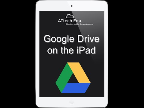 Google Drive on the iPad - Lesson 1 - Google Apps for Education Tutorial