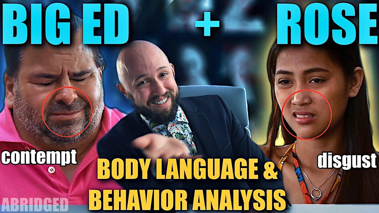 Big Ed & Rose Body Language MEGA-Episode | Nonverbal Analyst Reacts