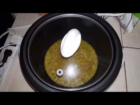 How to make curry chicken in Black and Decker Rice Cooker