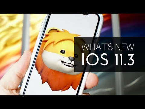 What's New in iOS 11.3