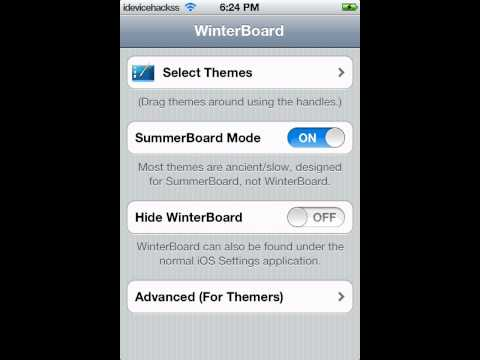 How to change lock screen name and color on iPod touch