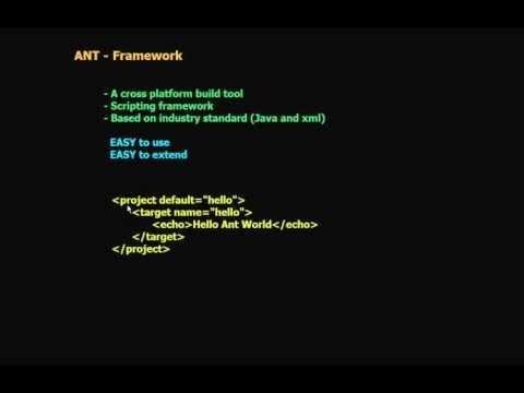 1 Ant Framework (in Arabic)