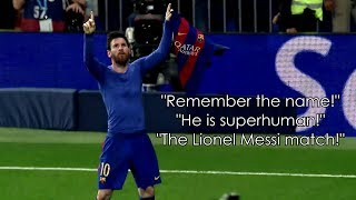 Lionel Messi ft. Rob Palmer ● Iconic Commentaries   HD