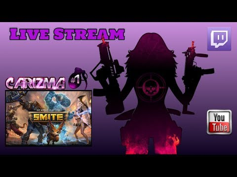 Live Stream : Multiplayer Smite - Trying something a little different (Free to Play)
