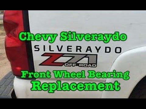2007-2011 Chevy Silverado AKA Silveraydo Front Wheel Bearing Replacement