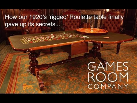 Rigged Roulette table gives up its secrets