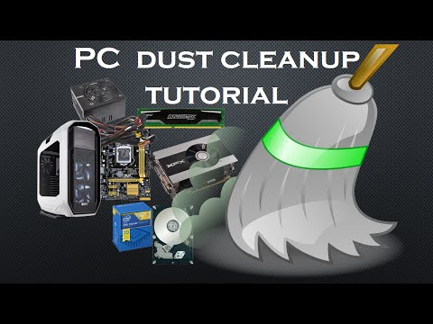 [Tutorial] How to clean your PC from dust. PC dust cleanup tutorial.