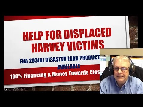 Hurricane Harvey Home Loan Disaster Relief Reminder In Cut and Shoot