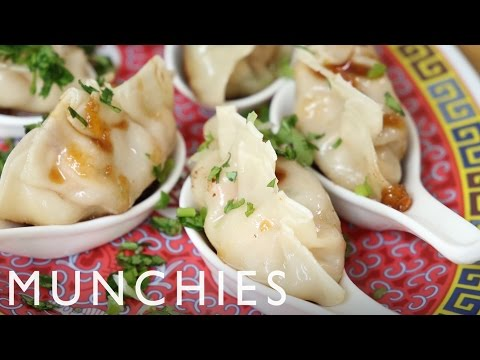 How To Make Shrimp & Mango Dumplings with Sue Chan