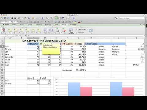 How to Get Comments to Disappear in Excel Spreadsheets : Microsoft Excel Tips
