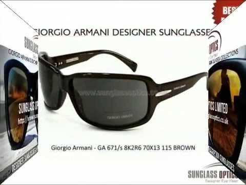 GIORGIO ARMANI DESIGNER SUNGLASSES