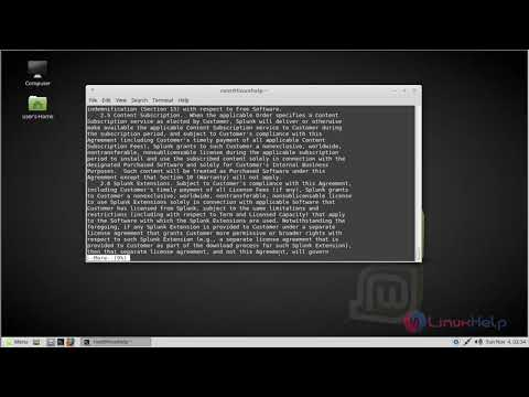 How to install Splunk on Linux Mint 18.3
