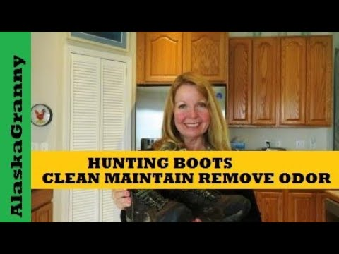 Hunting Boots- Clean Maintain Remove Odor
