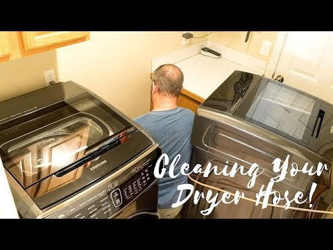 You Have Got to Clean Your Dryer Vent
