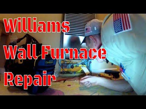 HVAC - Williams Wall Furnace - Easy Call