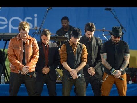 Backstreet Boys Good Morning America Performance 2012