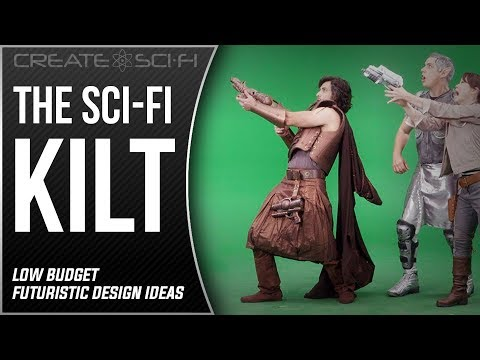 The Sci-Fi Kilt: Low Cost High Impact Costume Design