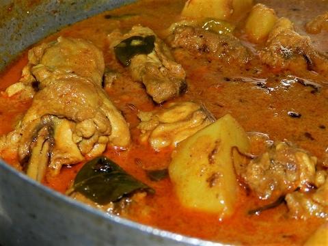 Chicken Curry/chicken mappas