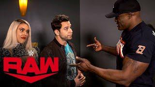 Bobby Lashley's harsh warning for Skylar Astin: Raw Exclusive, Feb. 10, 2020