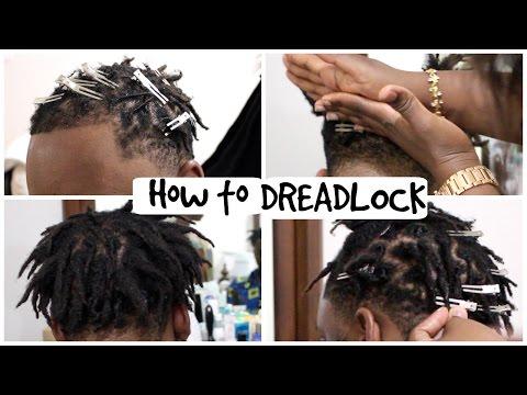 How to Dread Hair | Short Dreadlocks | Cindy Sandjo