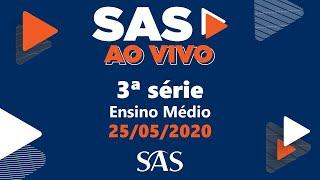 SAS ao Vivo   3ª série   Interpretação Textual 2   25/05   Aula 6
