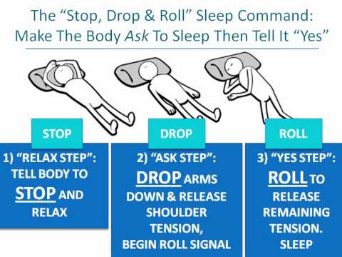 The Stop Drop & Roll Sleep Command To Fall Asleep Fast - Lucidology 101 Part 3/12