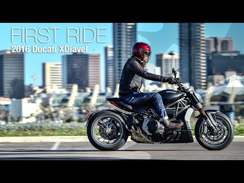 2016 Ducati XDiavel First Ride Review - MotoUSA
