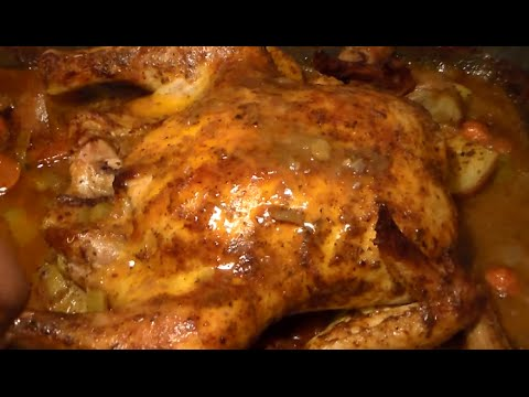 The BEST Whole Oven-Roasted Chicken Recipe: How To Roast A Chicken In The Oven