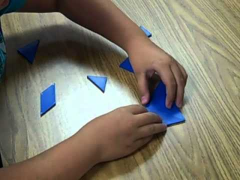 Can You Make A Square Using Tangram Pieces?
