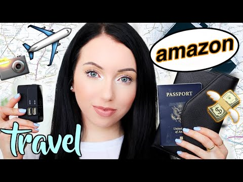 AMAZON THINGS YOU NEED! Travel Edition ✈️ What to Buy on Amazon 2018