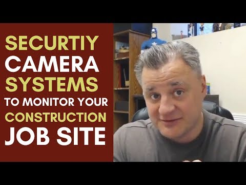 Using Construction Site Security Systems Mentorship Monday 090