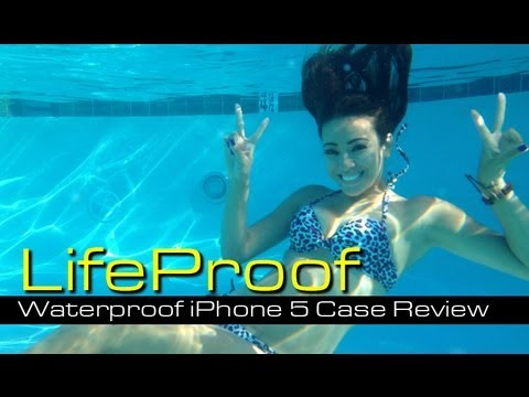 Lifeproof Nuudfre Iphone 45 Case Review Underwater Test